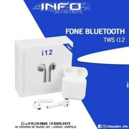 Fone Bluetooth. i12 TWS