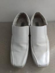 Sapato Social Branco Masculino