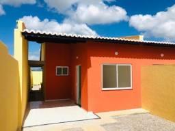JP casa nova com 2 quartos 2 banheiros em um lotamento so de casas novas