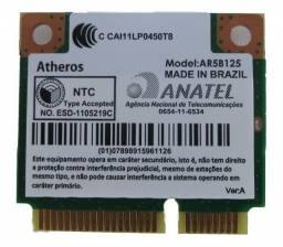 Placa Wireless Atheros Ar5b125 Para Notebooks