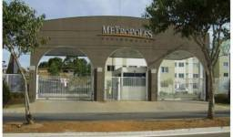 Vende apartamento 2/4, com armários 1 vaga, Residencial Metropolis Jardim Novo Mundo