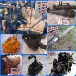 Comando hidráulico,bomba hidráulica,pistão hidráulico,motor hidráulico,guincho hidráulico