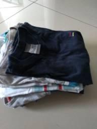 10 Camisas usadas para crianças com 06 anos