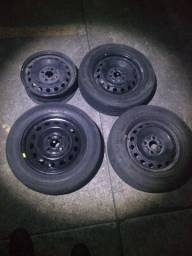 Jante Haro 14 cm pneu de Toyota ethios