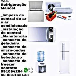 Limpeza de central de ar R$100,00