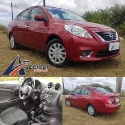 Nissan Versa 1.6 2012 (Com ou sem entrada + saldo em até 60X)