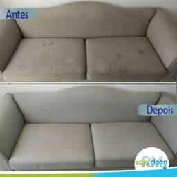 Higienização e Impermeabilização de estofados, sofá, colchão, poltrona, bancada