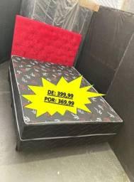 Cama Box Com Colchao Acoplado (Entrego)