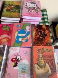 Vende-se cadernos