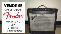 Amplificador Fender Mustang V.2 20W