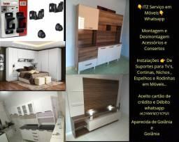 Montagem e Desmontagem de móveis, reparos de acessórios