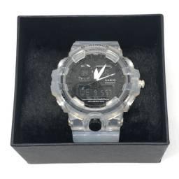 Relógio Casio G-shock Com Pulseira e Caixa Transparente Com Garantia Produto Novo