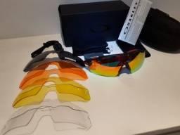 Oculos oakley Radar EV 2020 com 5 lentes prizm novo sem uso esportes bike corrida