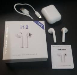 Fone de ouvio sem fio bluetooth i12 (funciona apenas 1 lado)
