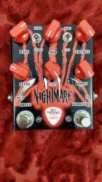 Pedal de distorção para guitarra Nightmare (Boutique)