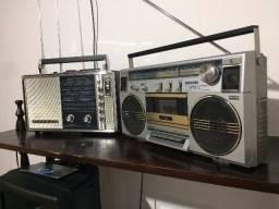 2 rádios de coleção! (Novissimos) Raridades.