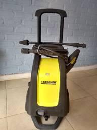 Lavadora de alta pressão Karcher usada