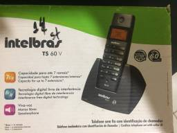 Telefone sem fio e identificador chamadas