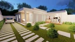 Casas planas no Eusébio, 3 quartos, 12 metros de largura