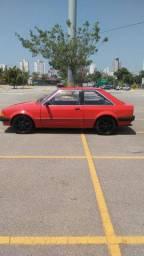 Ford Escort 1985 1.6 Álcool GL Vermelho (Não Troco e Não Financio)