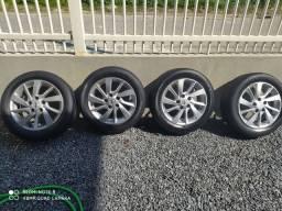 Jogo de rodas 16 Nissan Versa March Sentra