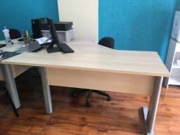 Mesa para escritório em L 120x60