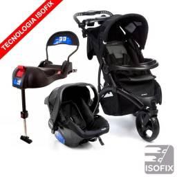 Carrinho, bebê conforto. Travel System com Base IsoFix - Infanti