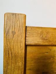 Jogo de Cama , madeira de demolição maciça