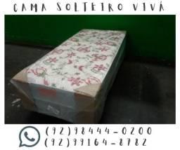 Oferta de Cama UnibBox de Solteiro Vivá. Nossa entrega é grátis!!!