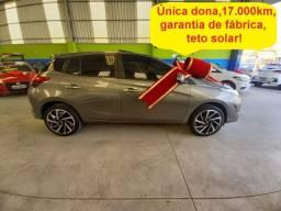 Toyota Yaris XLS 1.5 AT 17.000km, única dona, garantia de fábrica até 04/2022