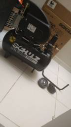 Compressor na caixa