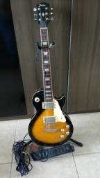Guitarra Shelter USA modelo LesPaul Nashville braço colado e regulada por luthier