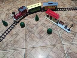 Locomotiva - trem - vagão Eagle Creek Express