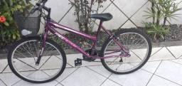 Bicicleta nova usada apenas 5 vezes