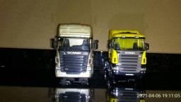 Miniatura caminhão carreta escala 1:32 metal ferro coleção