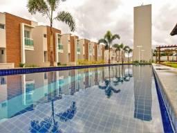 Título do anúncio: V1061 - Casa duplex em condomínio fechado de 95 m² no Eusébio - Pronto para morar