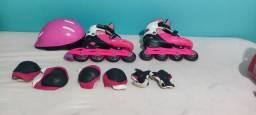 Lindo patins bem conservado