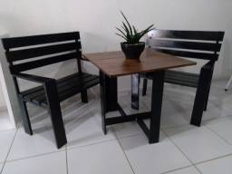 Conjunto de cadeiras +mesa