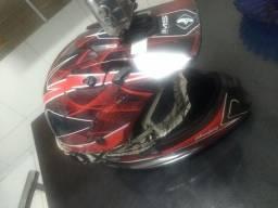 Vendo/ troco capacete de trilha IMS