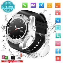 Relógio Com Funções de Smartphone, Faça e Atenda Suas Ligações No Relógio