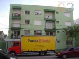Apartamento com 1 dormitório para alugar, 120 m² por R$ 650,00/mês - Centro - Pelotas/RS