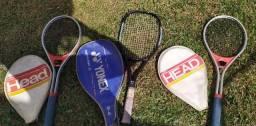 Kit Raquetes de Tênis Profissional