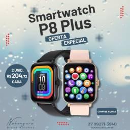 Relógio Smartwatch Colmi P8 Plus Tela Infinita 1,69 Polegada 2021