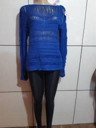 Conjunto blusa de linha com calça montaria por R$ 40,00