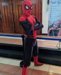 Personagem vivo: homem aranha