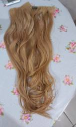 Vendo 2 telas de mega hair no tic-tac. Cabelo humano/indiano loiro claro