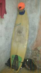 Prancha de surf Philip Lucas + kilhas de manobra