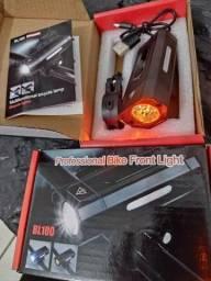 Lanterna bike fron Light/atacado e varejo entrega em jp e região