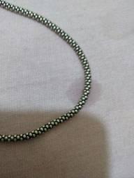 Cordão prata bali 925