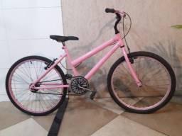 Bicicleta infantil feminina aro 24 - crianças de 7 à 14 anos